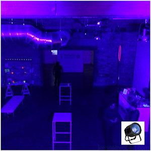 UV COB Black Light Rentals