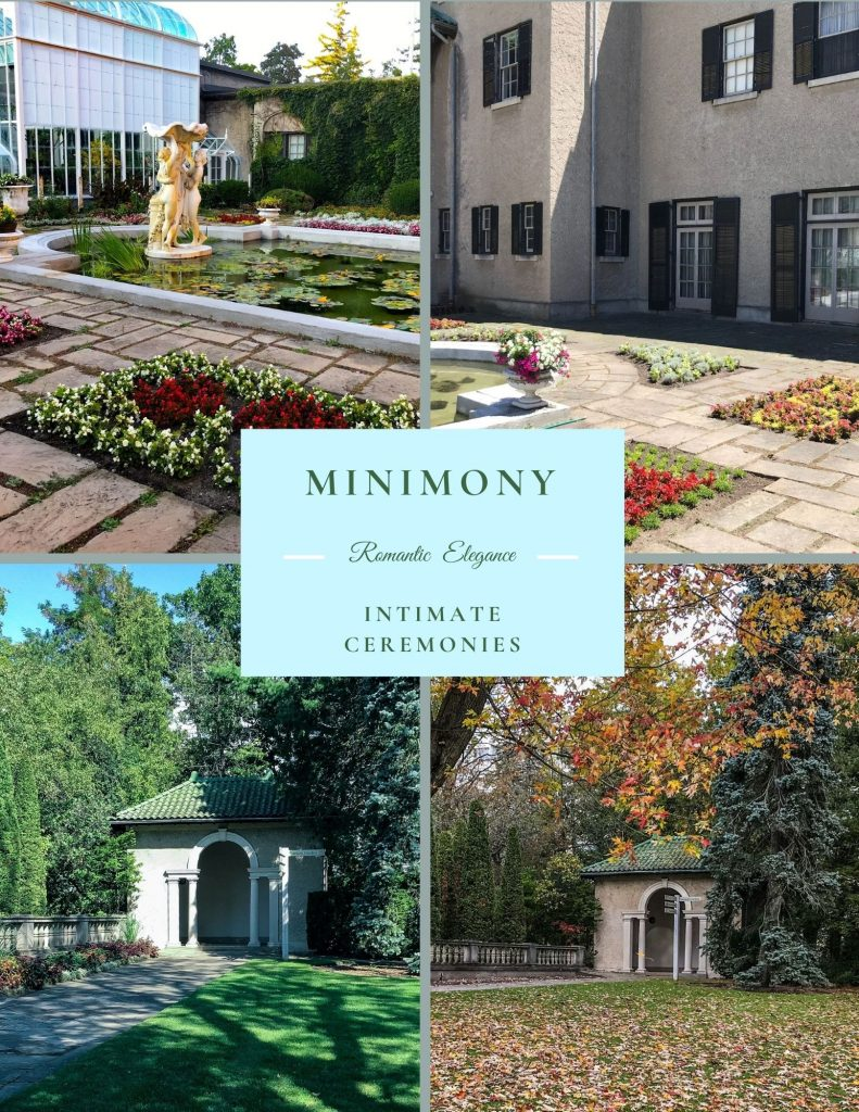 Parkwood Estate Minimony Wedding