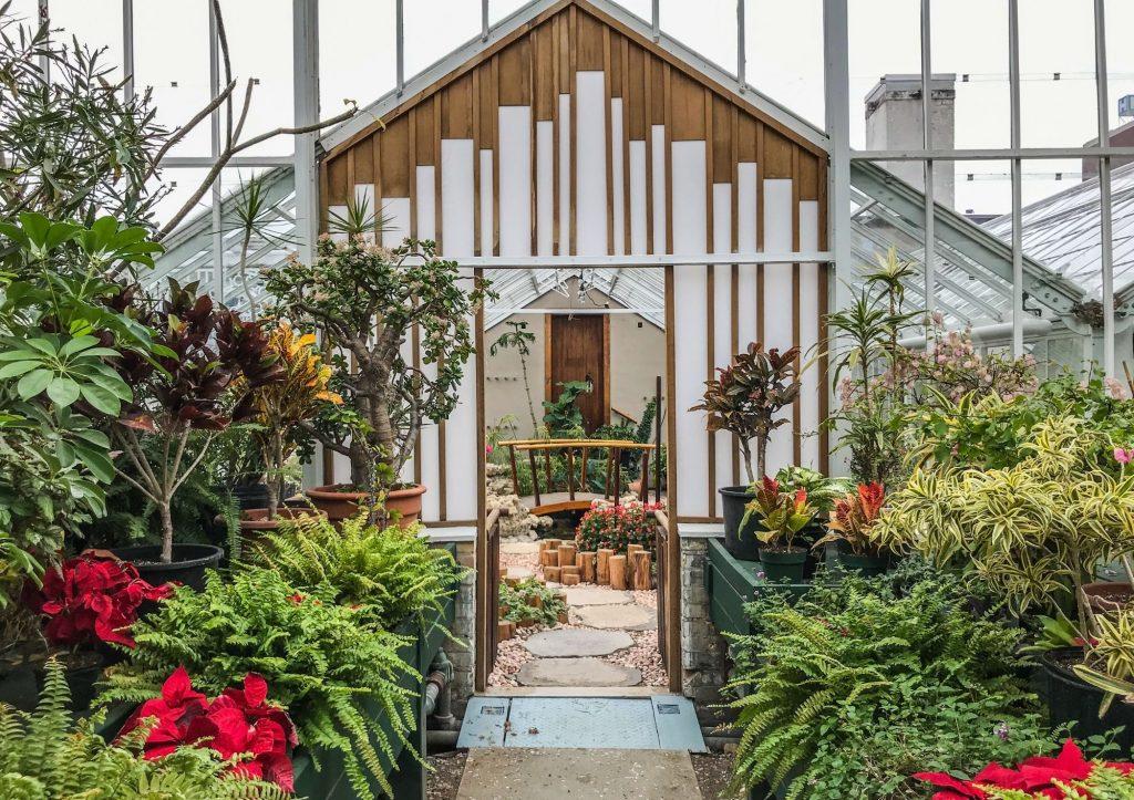 Parkwood Estate Japanese Garden Greenhouse