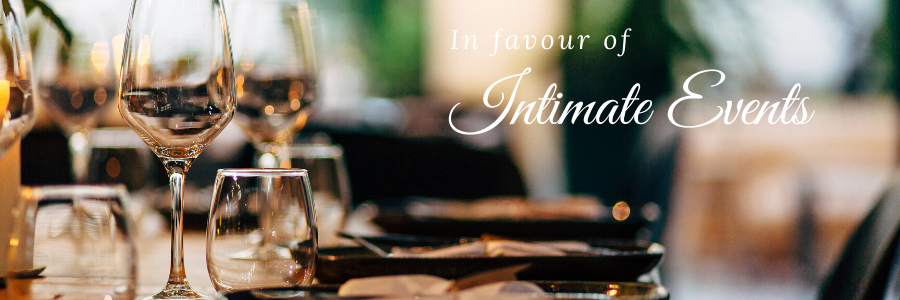 Intimate Events banner